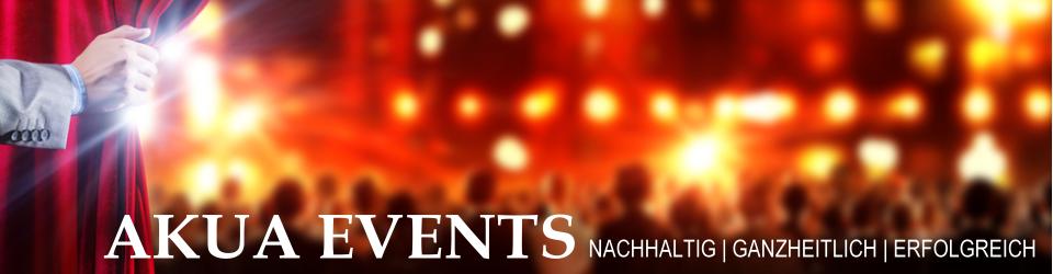 AKUA-Veranstaltungsagentur für nachhaltige Events